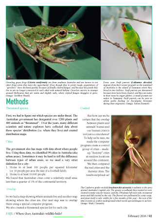 Threatened species in cities_Page_2